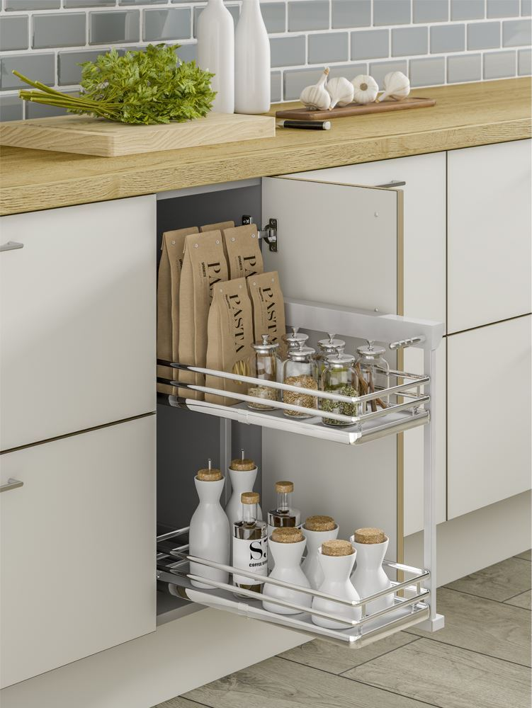 Base unit storage solutions