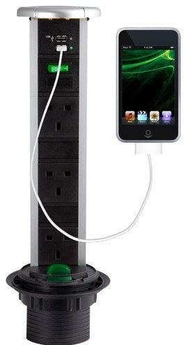 Sensio Powerpod with USB ports for charger phones