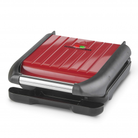 George Forman Small Red Steel Grill 25030