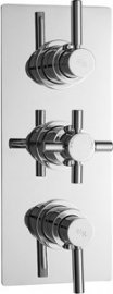 Tec Pura Plus Triple Concealed Therm Shower Valve & Diverter