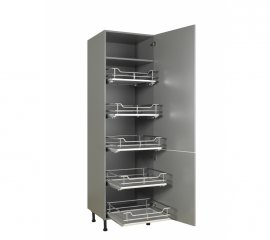 500mm LUXURY TALL LARDER INDIVIDUAL PULL OUT DRAWER SET X5