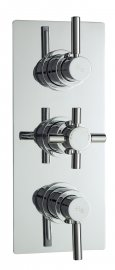 Tec Pura Plus Triple Concealed Thermostatic Shower Valve