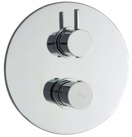 Clio Twin Concealed Thermostatic Shower Valve & Diverter