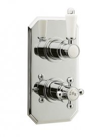Hudson Reed Traditional Twin Concealed Thermostatic Shower Valve-A3031C
