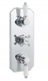 Traditional Triple Concealed Thermostatic Shower Valve