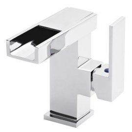 Hudson Reed LED Side Action Cloakroom Mono Basin Mixer Tap