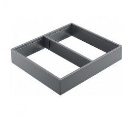 BLUM LEGRABOX AMBIA-LINE INSERT GREY 242 X 270MM